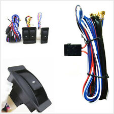 High Quality Universal Car SUV Power Window Switch Kits With Wiring Harness 12V