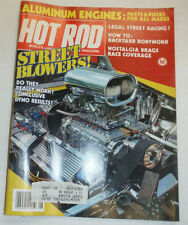 Hot Rod Magazine Street Blowers & Legal Street Racing August 1983 010515R