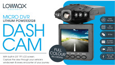 CAR DASH CAMERA MICRO DVR  UK BRAND BY LOWMAX