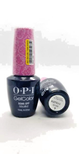Gel Polish OPI GelColor Soak Off Nail Colours. 15ml/0.5fl.oz Gel Nail Polish