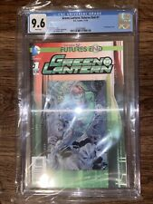 Green Lantern: The New 52 Futures End #1 DC Comics CGC 9.6 3D Cover 11/14