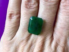 Natural Colombian Emerald • 8.8-9 Ct • Emerald Cut Loose Gemstone • Stone #18