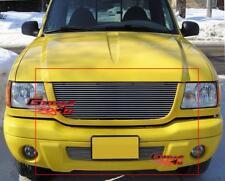 Fits 2001-2003 Ford Ranger XLT 4WD/ Edge Billet Grille Combo