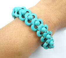 Beautiful  turquoise  beads Handmade Gemstone Jewellery bracelet