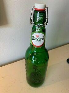 Flip Top Grolsch Magnum 1.5 liter ( 50oz ) green glass EMPTY bottle LARGE
