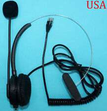 Auricular de Repuesto para Plantronics/plt teléfonos S10 S50 T50 T100 Negro RJ-9