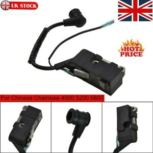 Ignition Coil For Chinese Chainsaw 4500 5200 5800 152F-100A 45cc/52cc/58cc Parts