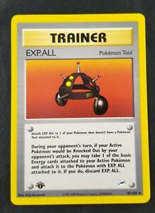 Pokemon Neo Destiny Trainer Exp All Tool 93/105 Non Holo 1st First Edition Rare