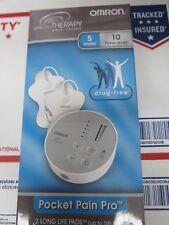 Omron Electro Therapy Pocket Pain Pro TENS Unit 2 Long Life Pads PM3029 -06/2020