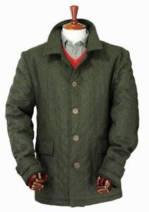 Laksen Zug Loden Mens Coat