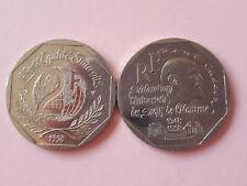 2 FRANCS COMMEMORATIVE FRANCE DROITS DE L HOMME 1998  TBE