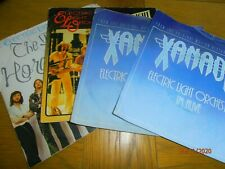 Electric Light Orchestra,  Job Lot x 4 Four Singles Picture Sleeves