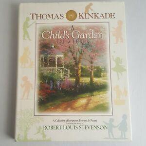 Thomas Kinkade A Childs Garden Of Verses Scriptures Prayers & Poems