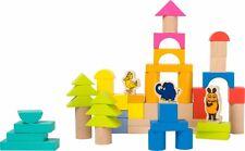 Die Maus Holzbausteine Kinder Holz Bauklötze 50 Teile Motorik Steine Spielzeug