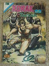 Korak el Hijo de Tarzan,Serie Aguila num.44,Novaro