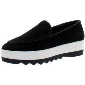 DKNY Womens Karan Faux Suede Slip On Round Toe Fashion Loafers Shoes BHFO 8392
