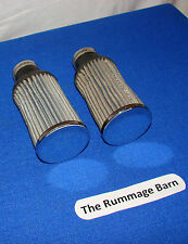 RARE vintage K & N R-90 MOTORCYCLE FILTER PODS twin set of 2 --- 33mm