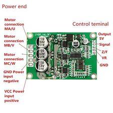 DC 12v 24v 36v 500w Brushless Motore Drive Board balanced CAR BLDC Controller
