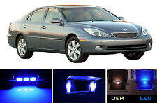 Ultra Blue Vanity / Sun visor  LED light Bulbs for Lexus ES 300 ES 330 (2 Pcs)