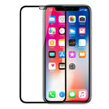 """for iPhone XR 6.1"""" Poetic 9 Hardness Tempered Glass Screen Protector Black"""