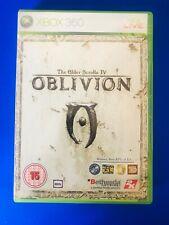 Xbox 360 The Elder Scrolls IV 4 OBLIVION carte complète jeu-envoi rapide