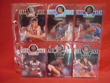 FUTERA HEAD TO HEAD LOT OF 6 DIE CUT SAMPLE CARDS NBL BASKETBALL 1995 GAZE GRACE