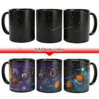 Starry Solar System Heat Sensitive Color Change Ceramic Coffee Cup Water Mug
