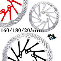 160mm/180/203mm Bicycle Disc Brake Rotor MTB Road Bike For SHIMANO Match 6Bolts