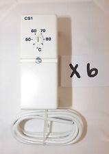 6 X DRAYTON HTS3 HOT WATER CYLINDER THERMOSTAT BRITISH GAS BADGED VAT INC
