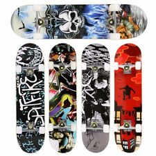 31x 8'' Standard Skateboards Beginners Complete Boards Canadian Maple Cruiser~