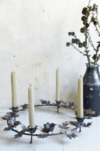 Jeanne d´Arc living Adventskranz Kranz Kerzenleuchter Blütenkranz Kranz  Ø 41 cm