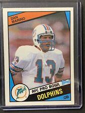 Topps 1984 Dan Marino AFC Pro Bowl Dolphins #123 0032