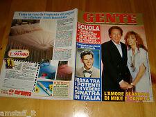 GENTE=1986/39=MIKE BONGIORNO=FRANK SINATRA=BARBIE THE HEART FAMILY MATTEL=