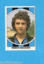 CALCIO-LAMPO 1980-FLASH-Figurina n.133- BECCALOSSI - INTER -Rec