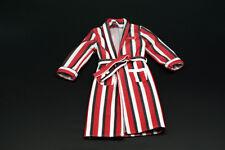 Custom 1/6 Scale Red Strip Bathrobe For Hot Toys DeadPool Figure Body