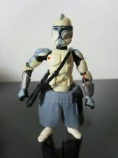 Star Wars: Clone Wars ARC TROOPER Blue Army Of The Republic Loose~
