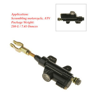 1PC Motorcycle ATV Rear Foot 4mm 5mm Hydraulic Clutch Master Cylinder Brake Pump