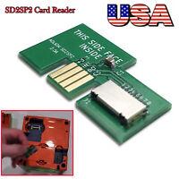GameCube Serial 2 SD2SP2 SDLoad SDL Card Reader NEWSD Card Adapter #USA