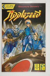 Ajppleseed Book 1 Volume 1 (1988 Eclipse) Shirow - VF/NM - COMBINED SHIPPING