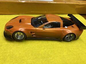 NSR 1/32 Corvette C6R Angle winder Slotcar 21,400 EVO King Motor Ready To Race
