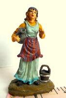 Christmas Nativity Woman Water Jar Bucket 2003 Grandeur Noel Bethlehem miniature