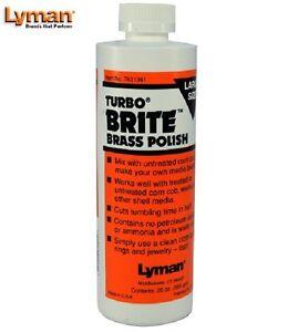 Lyman  Turbo Brite Brass Case Polish 20 Fluid oz.    # 7631361    New!
