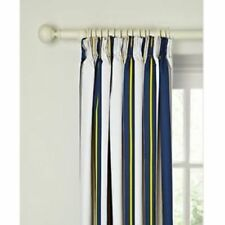 JOHN LEWIS FINLAY STRIPE LINED PENCIL PLEAT BLACKOUT CURTAINS 117x182cm 46 X 72""