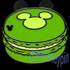 Disney Pin WDW 2015 Hidden Mickey *Mickey Macaroon Treats* Green Cookie!