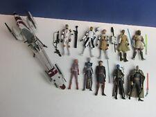10 star wars the clone wars TCW CW ACTION FIGURE LOT SET hasbro AHSOKA REX CODY
