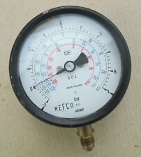 REFCO/HAENNI KI.1.0 -1-9 Bar R502/R22/R12 Manometer für Kältemittel Anzeige