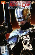 TERMINATOR ROBOCOP KILL HUMAN #1 Walt Simonson Cover DYNAMITE ENTERTAINMENT