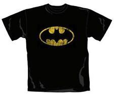 Batman - Distressed Shield Logo - Official Mens T Shirt