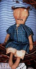 EXTREME PRIMITIVE DOLL PRIM DOLL PATTERN!!! MAILED PATTERN ~ everyday doll