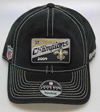 NFL Throwback NFC Champions 2009 Saints Superbowl XLIV Flexfit Locker Room Cap